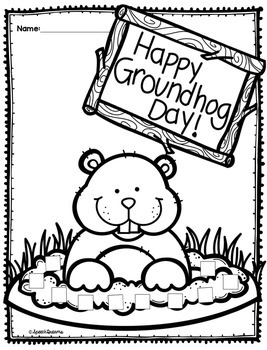 Groundhog Day Speech Therapy Craft {articulation