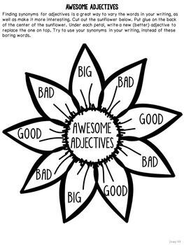 Growth Mindset Mentor Sentences & Interactive Activities