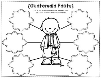 Guatemala Writing Papers (A Country Study!) by Emily Bynum