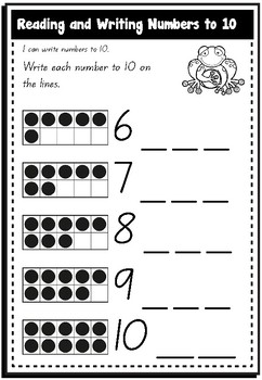 Foundation Guided Math: Unit 2: Exploring Numbers to 10 by