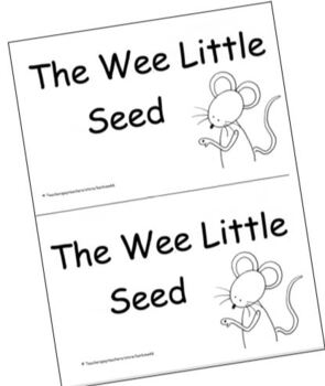 Guided Reading Level C Book: The Wee Little Seed (Plants