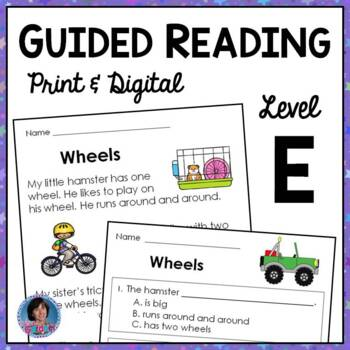 Reading Comprehension Worksheets And Passages For Guided Reading Level E