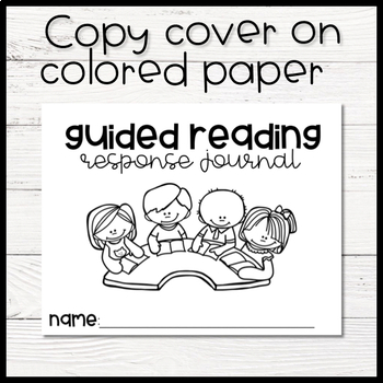Guided Reading Response Journals by Teaching with