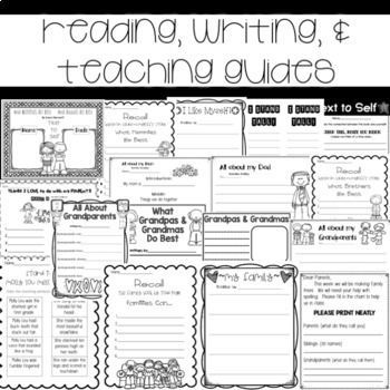 Family Unit Guided Reading with a Purpose Text to Self by