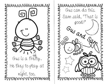 Gus the Firefly and Sam the Owl are Friends! FREE Emergent
