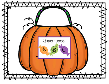 HALLOWEEN Theme Math and Literacy Centers and Activities