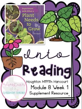 HMH Into Reading (Houghton Mifflin)- Module 8 Week 1