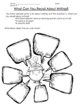 Writing Unit-