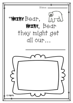 Hairy Bear Literacy Pack (A Joy Cowley Book Study) by The