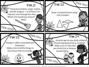 Halloween Activities: Halloween Writing, Discussion