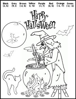 Halloween Algebra Systems {Halloween Systems of Equations