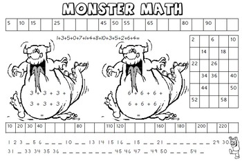 Halloween Activities Math and Literacy Printables by