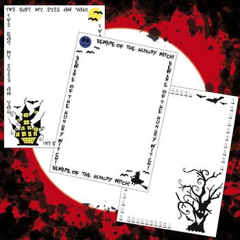 halloween halloween frames clip