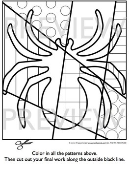 Halloween Activities: Interactive Coloring Sheets: Bats