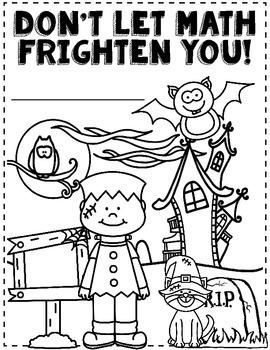 Halloween Math: Halloween 4th Grade Math Worksheets: 4th