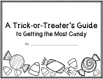 Halloween Procedural How-To Writing: A Trick-Or-Treater's