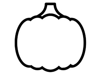 Pumpkin Template For Craft Pumpkin Outline Pumpkin Templates Pumpkin Coloring