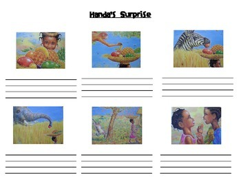 Handa S Surprise Story Sequence Activities Differentiated