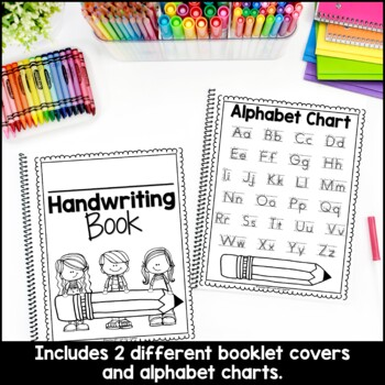 Handwriting Practice Booklet by Teaching With Love and