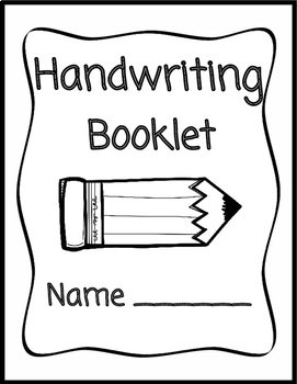 Nelson Handwriting Practice Booklet (80 full pages!!) by