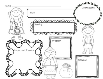 Hansel and Gretel Mini Unit~ Includes Graphic Organizers