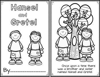 Hansel and Gretel (Retelling Cards and Pocket Chart