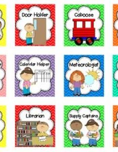 Happy helpers classroom jobs chart also by tender loving kindergarten rh teacherspayteachers