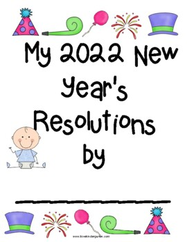 Happy New Year Math and Literacy Activities by