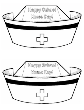 Happy School Nurse Day! nurse hat cards school nurse