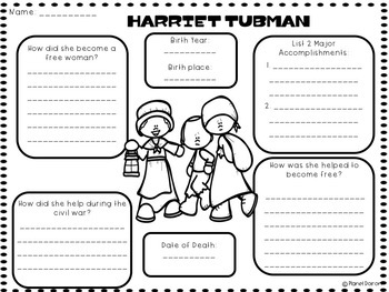 Harriet Tubman biography civil rights black history civil