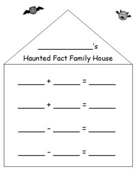 Images Of Second Grade Math Worksheets Fact Families
