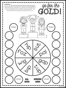 Winter Olympics 2018 Math & Literacy Printables ~ Heart of