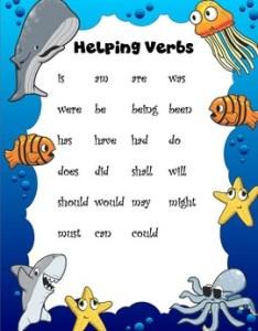 also helping verbs anchor chart by the at home educator tpt rh teacherspayteachers