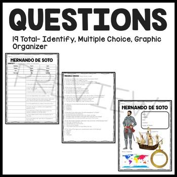 Hernando de Soto Reading Comprehension; Explorer
