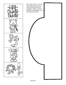 Hey Diddle Diddle Literacy & Math Centers, Activities