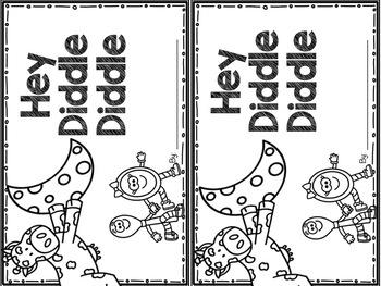 Hey Diddle Diddle Nursery Rhyme Set by Kindergarten