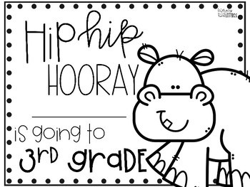 Hip Hip Hooray End of the Year Award {Freebie} by Literacy