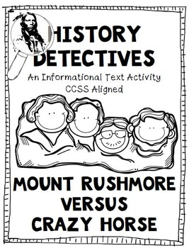 Informational Text Test Prep Mount Rushmore and Crazy