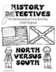 Civil War North vs South Informational Text Activity by