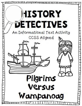 Thanksgiving Pilgrims and Native Americans Informational