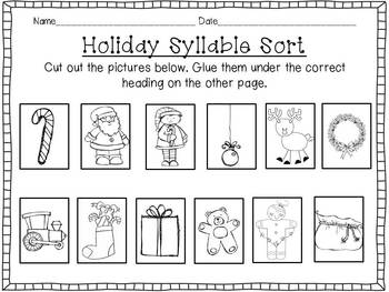 Ho, Ho, Ho! It's Holiday Time! {A Christmas Literacy