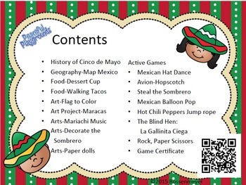 Pe And Classroom Party Games Cinco De Mayo By Peaceful