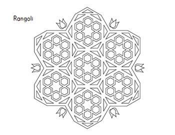 Holidays Around the World: Diwali Coloring Sheets by Kid