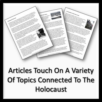 Holocaust Themed Nonfiction Readings & Responses for ELA
