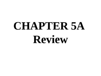 Holt Algebra Chapter 5A