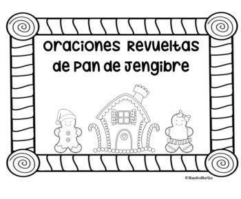 Hombrecito de Pan de Jengibre- Oraciones Revueltas by