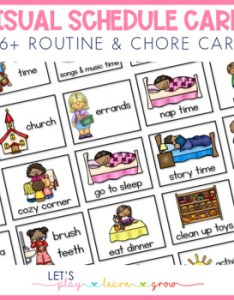 Home visual schedule routine  chore chart for young children also by rh teacherspayteachers
