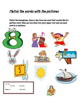 Homophones Worksheet Packet By The Teacher Team