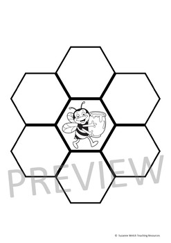 Honeybees – Collaborative Honeycomb Template