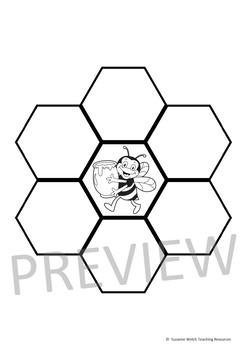 Honeybees – Collaborative Honeycomb Template